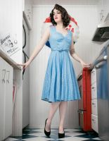 pinup girl by lanael1496