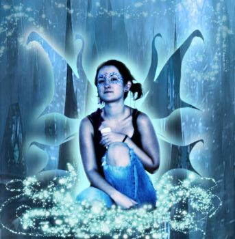 Blue Fairy by icedragonenflamed