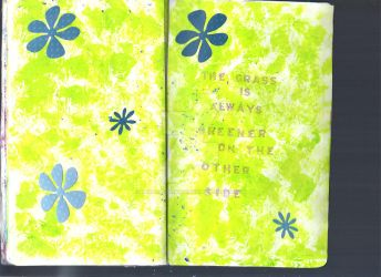 Sketchbook Project Page 32+33 by hannahakaskatergirl
