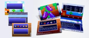 8-Bit Foods Seed Packets by Skullflame