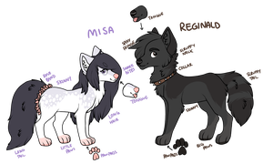[reference] Misa and Reginald by voxame