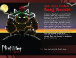 Nintober 042. Baby Bowser by fryguy64