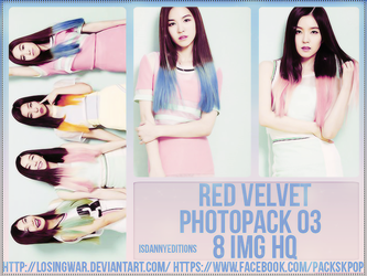 Red Velvet - PHOTOPACK #3 by LosingWar