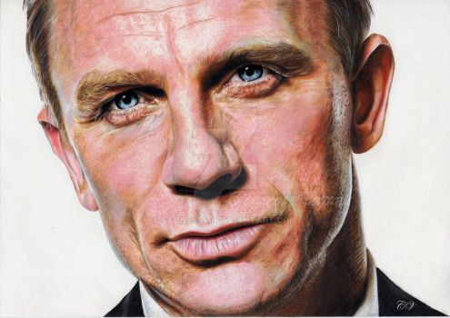 Daniel CRAIG by Sadness40