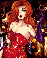 Jessica Rabbit -rough- by AStudyInScarlet