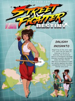 STREET FIGHTER DESTINY: Dalisay Inosanto by theCHAMBA