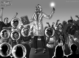 The Effective Scientist: Science for the Masses by ReneCampbellArt