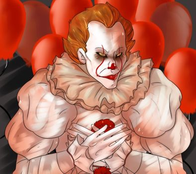 Pennywise the clown by sIashers