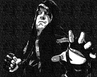 Black And Withe Deadman Wallpaper by HARDTAKER
