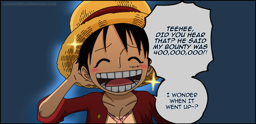 Luffy's Bounty by LordSarito