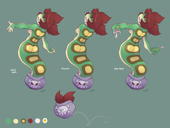 Tuki design sheet by gunmouth