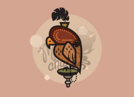 Arabian Falconry Vector by MissChatZ