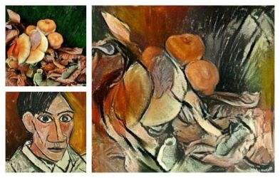 How would Picasso have seen a mushroom... by ansdesign