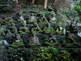 Ancient Monks by Lissou-photography