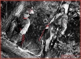 AC III - Connor and Aveline cosplay by RBF-productions-NL