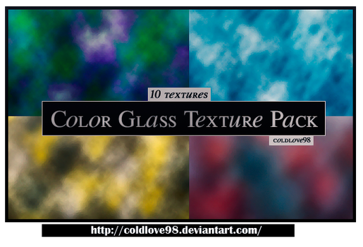 Color Glass Texture Pack | ColdLove98 by ColdLove98