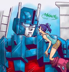 ULTRAMAGNUS+VERITY by YUKIZARASI