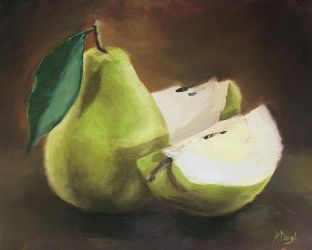 Pears by justanothercreator
