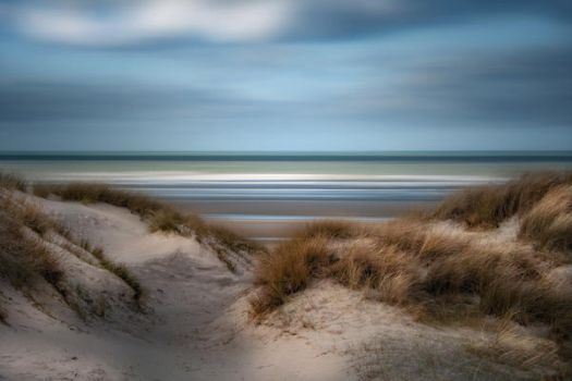 Dunes of Flanders - Dunkerque - France by Laurent-Dubus