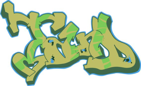 My own tribute to the world of Grafitti by JTPdesigns