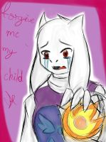 I will not let you go (undertale- toriel) by lady-heart235