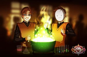 Victubia - Potion Class by Gabbi
