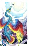 Rainbow Serpent by hibbary