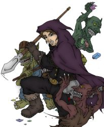 Goblins In The GlassWorks Colored by SteewpidZombie
