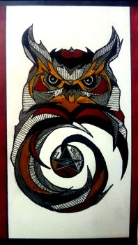 owl by xefernous
