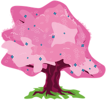 Pink Tree by alexiy777