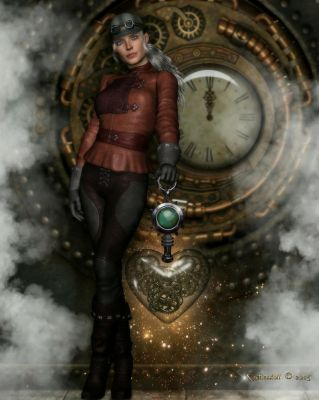 Steampunk Heart by Kachinadoll