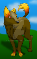 How I Draw a Wolf (OC request) 8 by horse14t