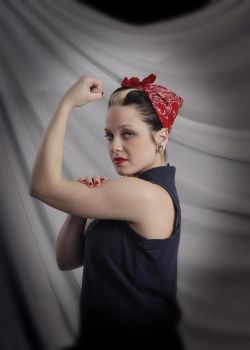 kayla the riveter by inkydee