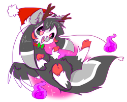 (Livestream Request) Christmas Griffin by SushPuppy