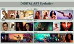 Digital Art Evolution by RocioRodriguez