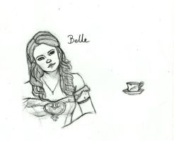 Once Upon A Time - Belle by LunaHermione