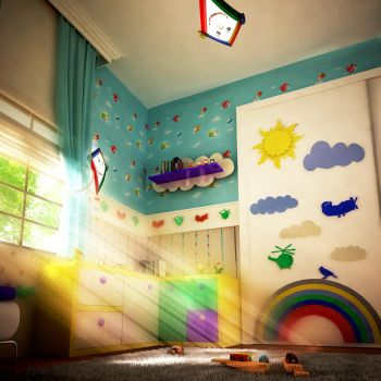 Child room 2 by Murataral