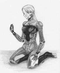Eve and Nano by rissdemeanour