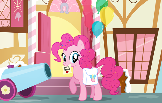 Lets go to the party (Pinkie Pie) by rainbownspeedash