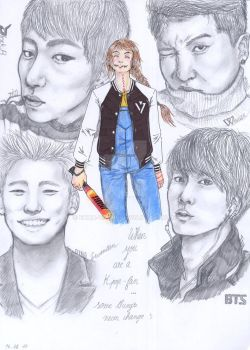 When you are a Kpop-fan... by Ecna-Tsonc