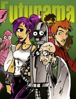 futurama by lroyburch