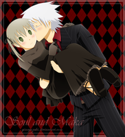 Soul Eater - Black and Red by Ginryuzaki