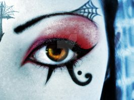 Deathrock make-up by DarkAsteria