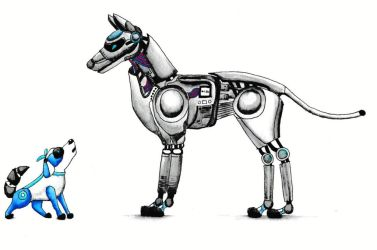 Mechanical Dogs by icedragon78970