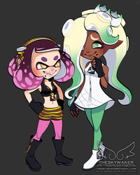 Pearl And Marina Outfit Swap (10 17 2017) by theskywaker