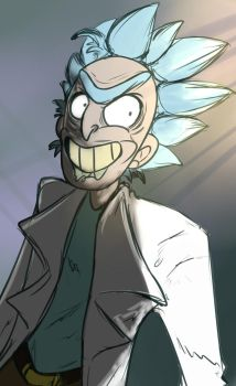 Rick Sketch by Mollish