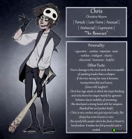 |Creepypasta OC| Chris Reference Sheet by 0ktavian
