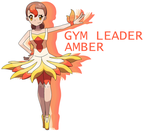 Gym Leader Amber by Smiley-Fakemon