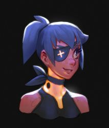 Eyepatch Chan by MoonlightOrange