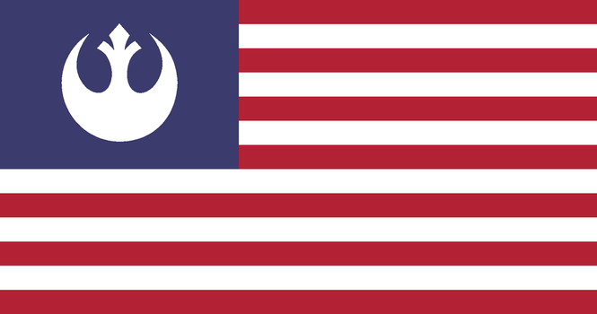 U.S. Rebel Alliance Flag by TheMexicanPunisher